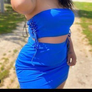 Matching skirt set